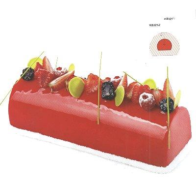 תבנית סיליקון לעוגה KE011