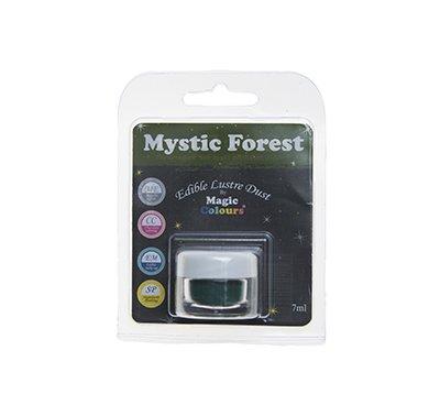 אבקת איבוק מטאלית - ירוק יער