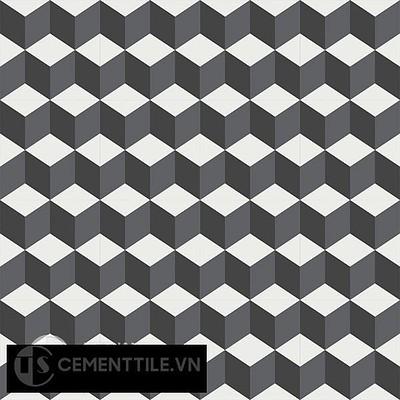Gạch bông CTS 8.1(4-13-32) - 16 viên - Encaustic cement tile CTS 8.1(4-13-32) - 16tiles