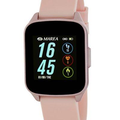 Reloj smartwatch Marea B59001-4 con correa de caucho. El mejor precio en este tipo de relojes y con 2 años de garantía. Marca española.