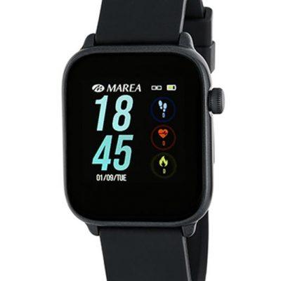 Reloj smartwatch Marea B59002-1 con correa de caucho. El mejor precio en este tipo de relojes y con 2 años de garantía. Marca española.