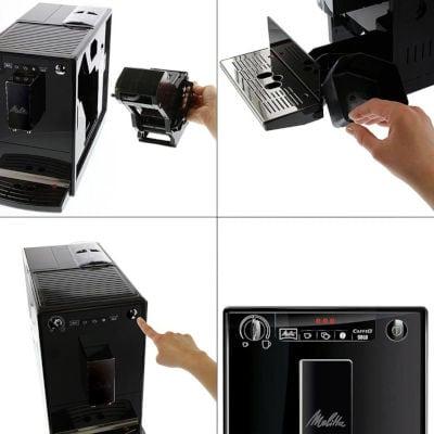 entretien de la melitta caffeo solo E950-222