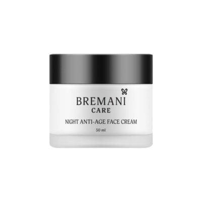 Интенсивный Ночной Антивозрастной Крем для Лица 40+ Night Anti-age Face Cream Bremani Care