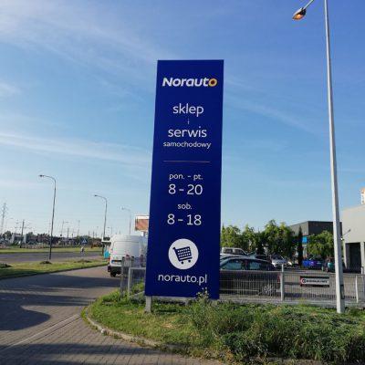 Kompleksowe oznakowanie sieci sklepów i serwisów samochodowych
