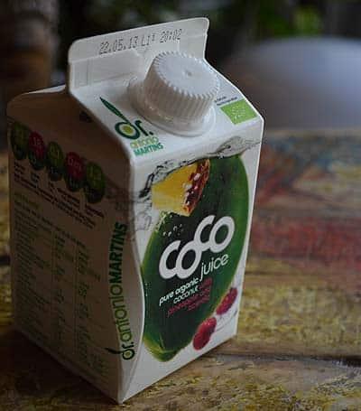 L'eau de coco bio Dr Antonio Martins