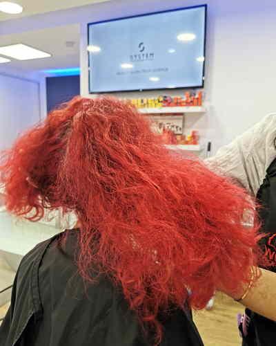 passer du rouge au blond  aix en provence avant