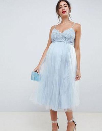 vestidos-de-fiesta-premama-para-embarazadas-tul-top-tirantes-premium-asos