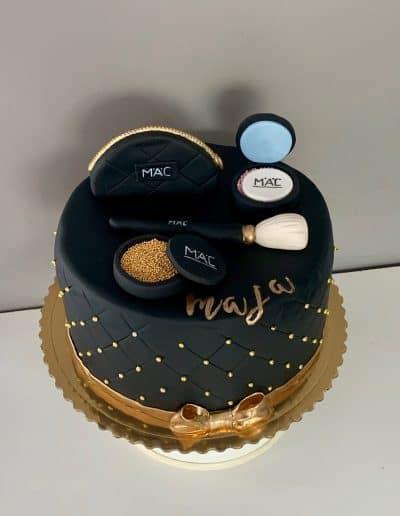 tort kosmetyki mac