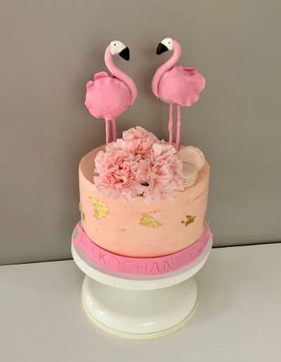 tort flamingi