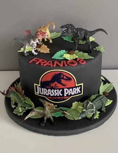 tort jurassic park dinozaury