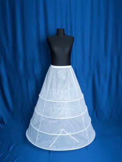 crinolina pentru rochie de mireasa cu 4 cercuri