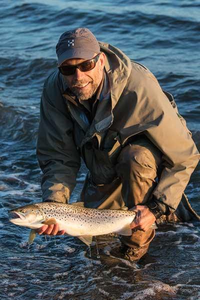 Jesper Vang møller havørred kystluefiskeri