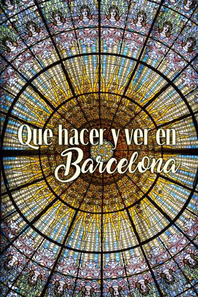 Las mejores cosas que ver y que hacer en Barcelona