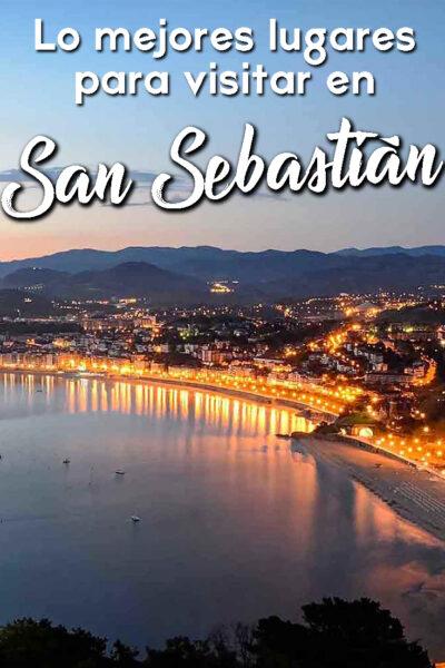 Los mejores lugares para visitar en San Sebastián