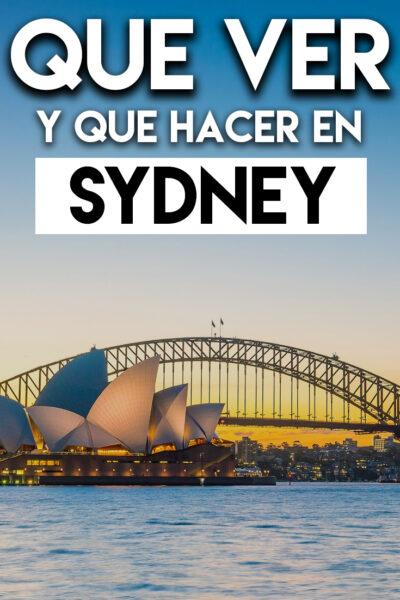 Qué ver y Qué hacer en Sidney
