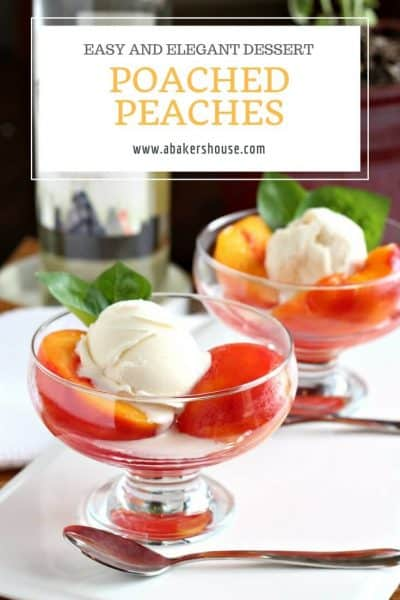 Recipe for poached pears