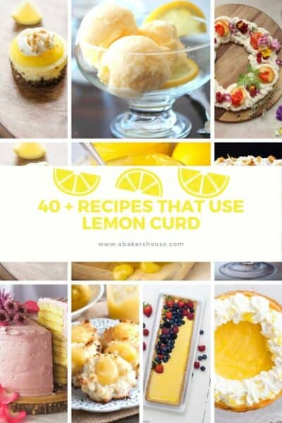 Collage of best recipes for lemon curd