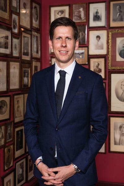 Andreas Keese ist der neue Direktor im Hotel Sacher Wien