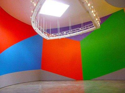 """Wall Drawing 831 (Geometric Forms)"", von Sol LeWitt, Museo Guggenheim (Bilbao, Spanien)"