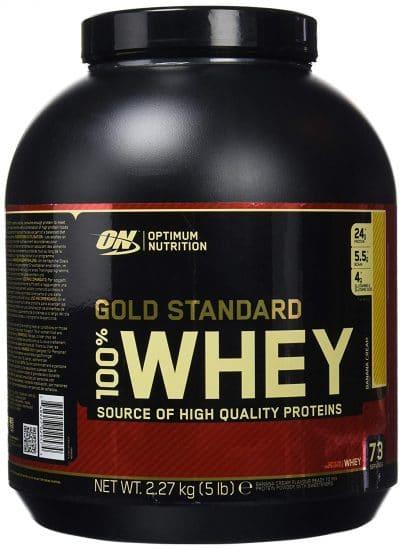 Optimum Nutrition Gold Standard 100% Whey Proteína en Polvo,