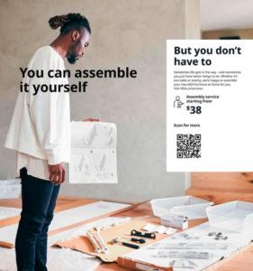 Ikea imagen racista.