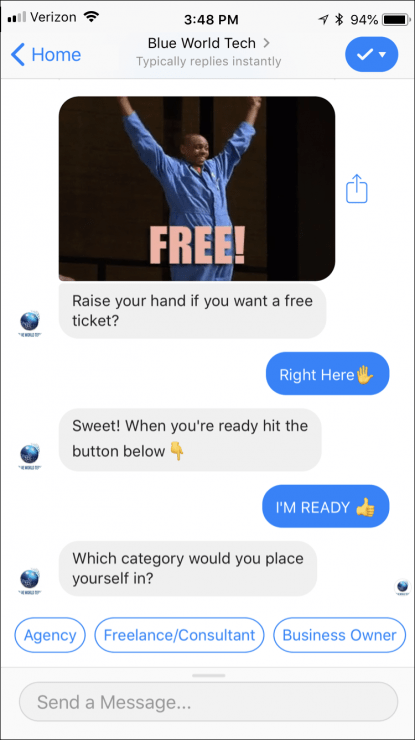 best chatbots for business - lead generation