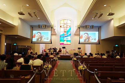 Teng Chuan & Patrina's Wedding at True Way Presbyterian Church