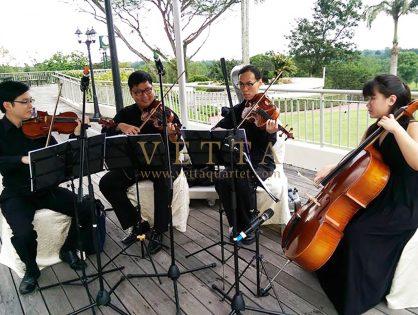 Bertrand's Wedding at Singapore Island Country Club