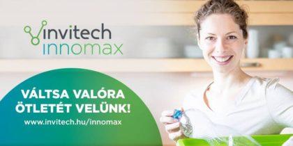 Pályázzanak az Invitech InnoMax díjra!