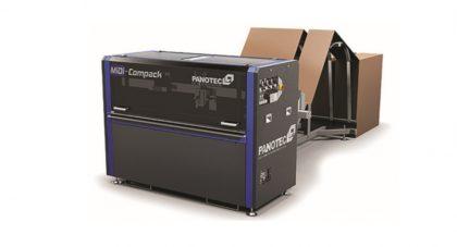 """PANOTEC """"Box on demand"""", azaz kartondobozok gyártása igény szerint"""
