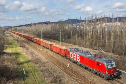 Rekordidőt ért el a Rail Cargo tesztvonata