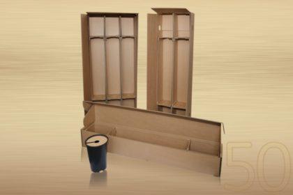 A Transpack szaklap Hungaropack különdíjainak egyik idei nyertese a Thermofoam Kft. Cserepes rózsatő szállítási csomagolási rendszere