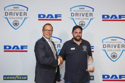 Peter Jacobs nyerte a 2019-es DAF járművezető-versenyt