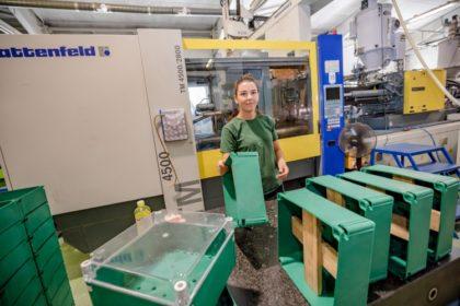 Mezőgazdasági műanyag hulladékból ismét terméket gyártanak