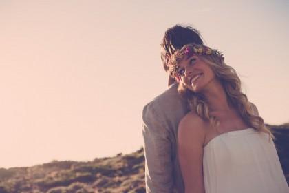 Brautkleid Hippie