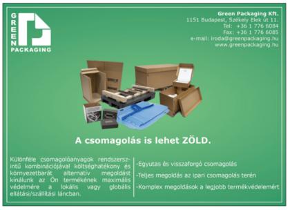 Green Packaging: növekedés a válasz a növekedésre