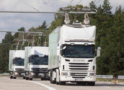 Villamosított autópályaszakaszt tesztel a Siemens