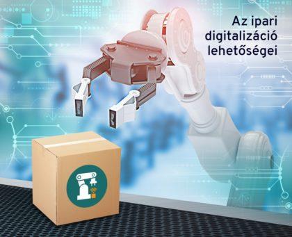 Ipar 4.0: a logisztika és a csomagolóipar folyamatainak digitalizálása