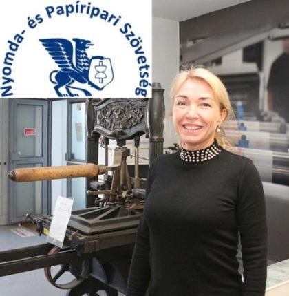 Új elnököt választott a Nyomda- és Papíripari Szövetség