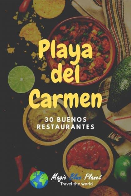 Los mejores restaurantes en Playa del Carmen Pinterest 2