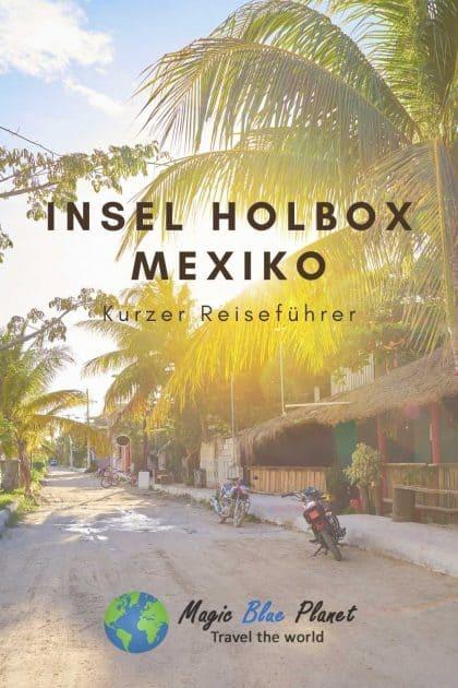 Reiseführer Insel Holbox Pinterest 3