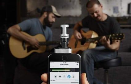 6 mejores microfonos para movil - shure