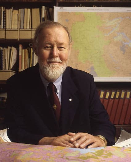 Roger Tomlinson, 1933-2014. Roger Tomlinson. Archival Photograph from the Tomlinson Collection, Geography and Map Division, Library of Congress.