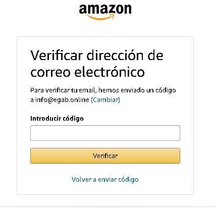 Te van a solicitar realizar la verificación de tu cuenta por medio del envío de una clave a tu correo