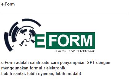 Cara Mengisi E-Form Untuk Melaporkan SPT Tahunan 2017 Bagi Pebisnis Online