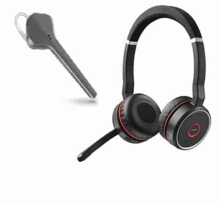Schnurlose Headsets