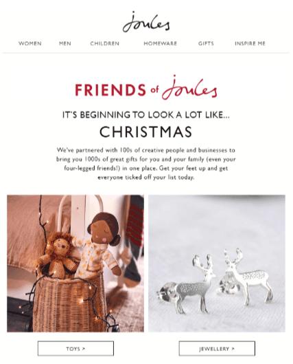 Holiday season Eighth Example