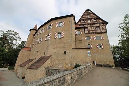 Die Jugendherberge Schloss Rechenberg / Fotos: Burgerbe.de