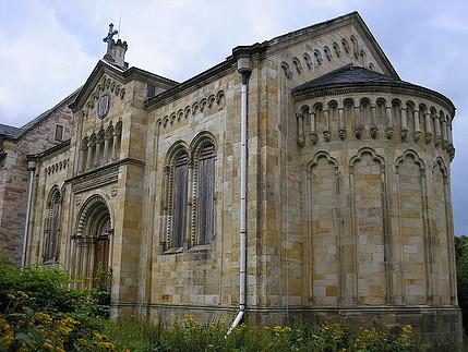 Die Kapelle von Schloss Reinhardsbrunn / Foto: Wikipedia / Michael Sander / CC-BY-SA 3.0