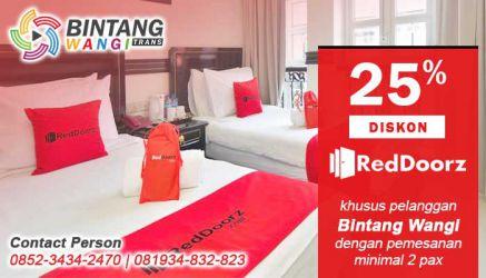 Promo, Diskon 25% Untuk Pelanggan Travel Banyuwangi